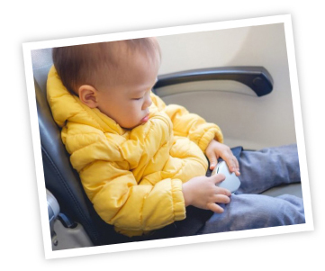 etiquette tips for flying with toddlers