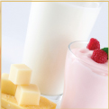 Calcium fortified dairy