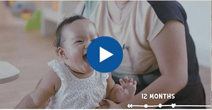 #Little Pioneer Baby Steps series: Emotional 12-24 months