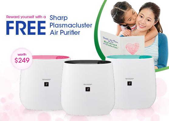 Happy Mother's Day – Reward yourself with Free Air Purifier worth $249