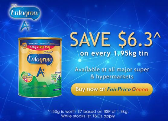 Save $6.3 at FairPrice Online