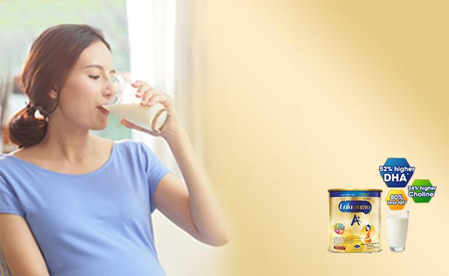 Scientifically formulated for lactating moms